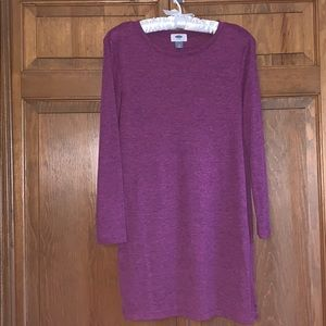 Purple Long Sleeved Old Navy Tunic Size M